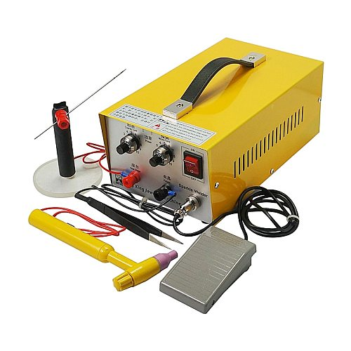 DX-30A handheld laser spot welder laser welding machine with tungsten needle for Soldering Jewelry