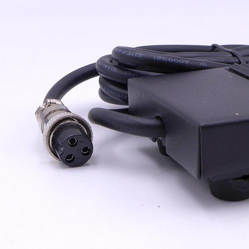 3 Pins Free Your Hand Metal Foot Pedal Switch 1.8 Meters Cable  Connector Spot Welding Tig Torch
