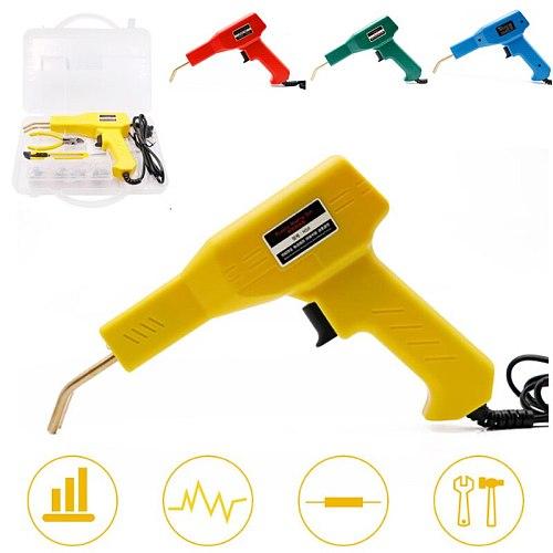 Handy Plastic Welder Garage Tools Hot Staplers Machine Staple PVC Plastic Repairing Machine Car Bumper Repair Hot Stapler