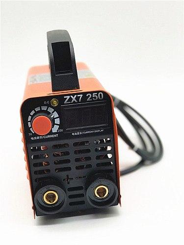 For free 250A 110-250V Compact Mini MMA Welder Inverter ARC Welding Machine Stick Welder