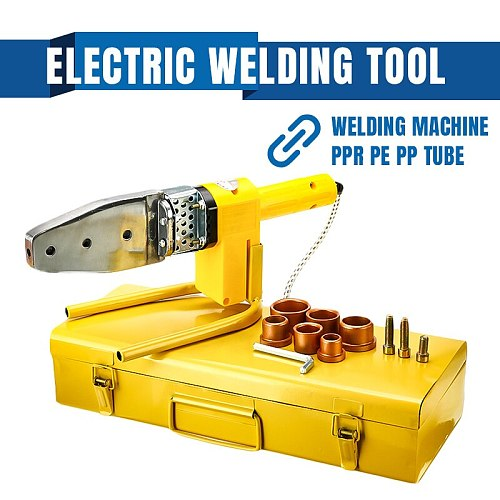 Electric Pipe Welding Machine Heating Tool Heads Set For PPR PE PP Plastic Tube Welding Hot Melt Machine Temperature Control