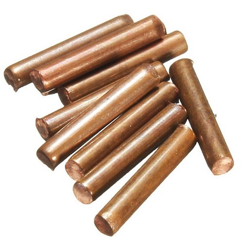 10Pcs Welding Pin Pulse Welding Needle Suitable for Sunkko Spot Welding Pen HB-71a 70B 71B Alumina Copper Needle