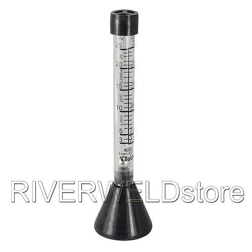 Argon Co2 Gas Flow Meter Scale Tester Measure Flowmeter for Mig Tig Welder Welding,1PK