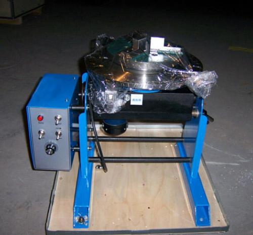 30KG portable welding positioners,turntable for circle workpiece can match with welding chuck WP200