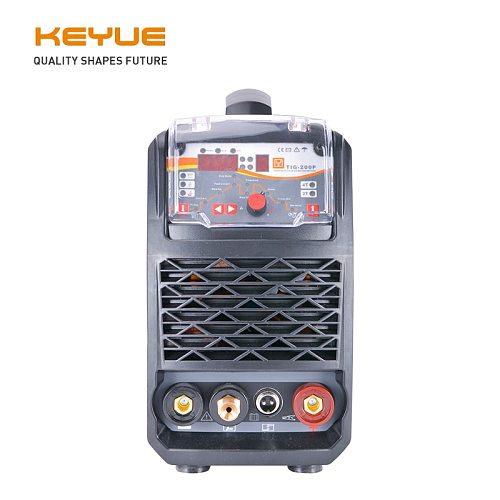 KEYUE TIG-200P Portable Single Phase 220V DC inverter pulse IGBT Welding Machine 200A Arc TIG MMA pulse welder synergy control