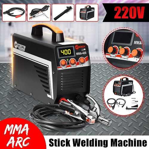 Electric Welding Machine IGBT Inverter Arc Welder Digital Display Portable Mini Arc Welding Machine Welder 220V Welding Tools