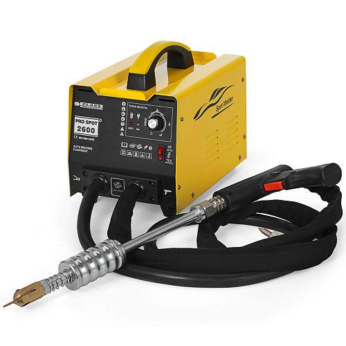 Yellow Multispot GYSpot 2600 Spot Puller Bonnet Dent Repair Welder