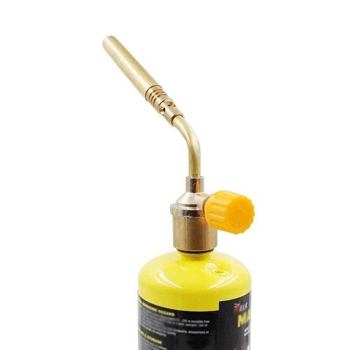 Mapp Gas No Self Ignition Plumbing Turbo Torch Propane Soldering Brazing Welding(No Gas)