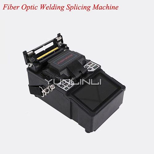 Automatic & Manula Type Optical Fiber Fusion Splicer SM&MM/DS/NZDS Fiber Optic Welding Splicing Machine