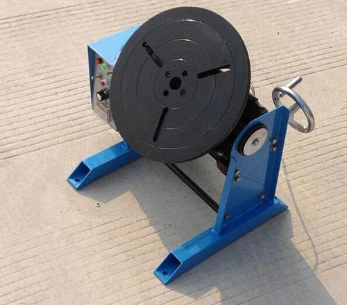 30KG Welding Positioner Turntable HD-30 30KG Center Hole 25mm Without Chuck