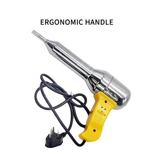 Hot Sale Portable Welding Heat 700W Electric Handheld Hot Air  Yellow Plastic Adjustable Temperature Heat