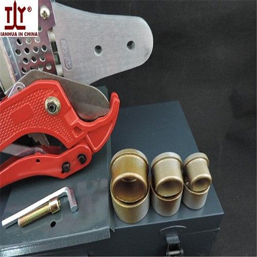DN 20-32mm 600W Temperature Controled PPR Welding Machine Plastic Pipe Welding ppr-plastic pipe welder With 42mm Pipe Cutter
