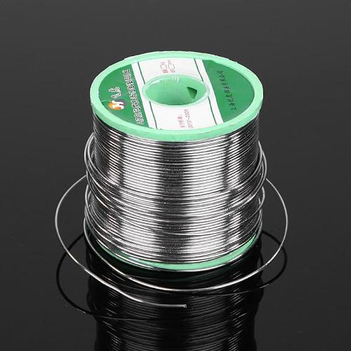 500g/roll Tin Wire Lead Solder Wire Flux Reel Welding Line Welding Wires 0.8mm/1.0mm for Electrical Repair Soldering Wire Roll