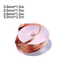 2.0mm 2.5mm 3.5mm Length 1.5M Width Desoldering Braid Welding Solder Remover Wire Lead Cord Flux Repair Tool