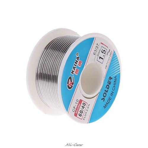 100g 60/40 Rosin Core Qualitied Tin Lead Solder Wire Soldering Welding Flux 2.0%