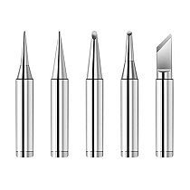 5pcs New Lead Free Solder Iron Tips Replacement For Soldering Repair Station and soldering iron kit