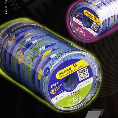 MECHANIC Solder Wick Braid BGA Soldering Repair Tools Remover 1.5/2.0/2.5/3.0/3.5mm Environmentally Desoldering Wire