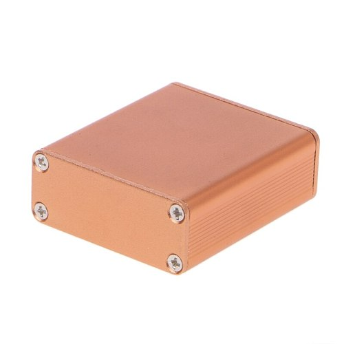 DIY Aluminum Case Electronic Project PCB Instrument Box 45x45x18.5mm Good for electronic projects, power supply units.
