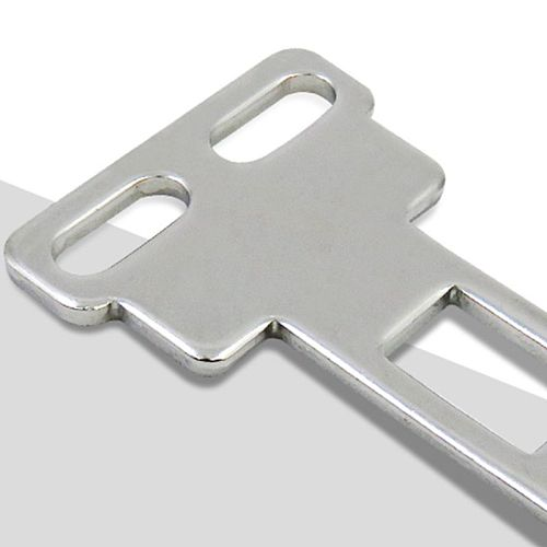 CZ93-K1 Door Safety Interlock Switch Actuating Key Silver Tone Direct Acting Y98E