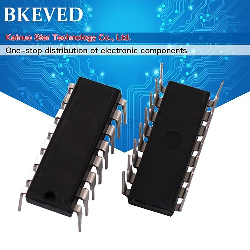 10pcs CD4042BE DIP-16 CD4042 DIP16 4042BE DIP IC new and original IC