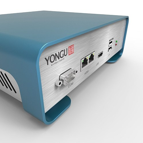 2019 New product YONGU-P01 208.4 X 71.5 X 189 mm Aluminum bending enclosure for DIY PCB case