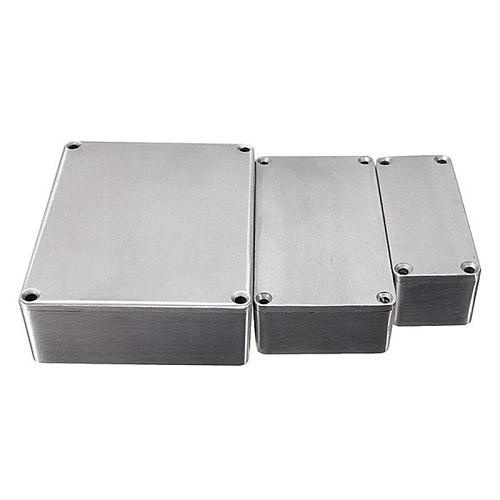 Die-cast Aluminum Stomp Box Guitar Effect Pedals Enclosures Hammond 1590BB 1590A 1590LB 1590XX 1590DD Musical Instrument Case