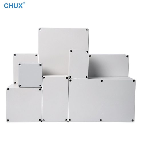 F Type Waterproof Junction Box Outdoor Sealed Switch Power Plastic Button Enclosure Case Electrical Distribution boxes