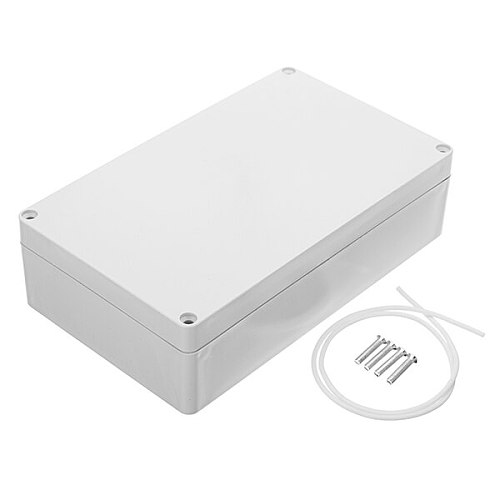 200 x 120 x 55mm DIY Plastic Waterproof Housing Electronic Junction Case Power Supply Box Instrument Case Sealed Switch Box