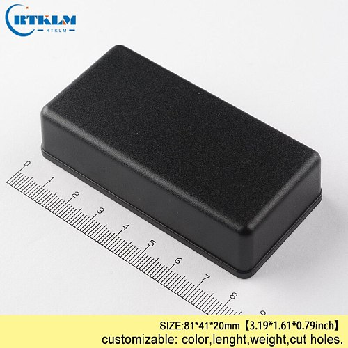 ABS junction box IP54 plastic project case plastic enclosure for speaker box diy design small electric box 81*41*20mm