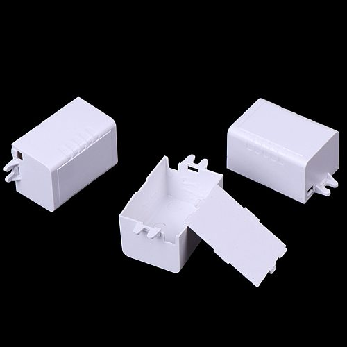 1pc-10pcs Waterproof Plastic Electronic Enclosure Project Box Black 65x38x22mm Connector Wire Junction Boxes