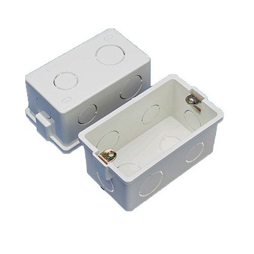 US standard switch socket wire channel base wall mount installation cassette PC fireproof material Trunking base