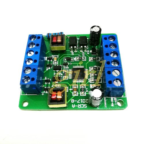 Single phase thyristor trigger board SCR-A can adjust voltage, temperature modulation and speed regulation with MTC MTX module