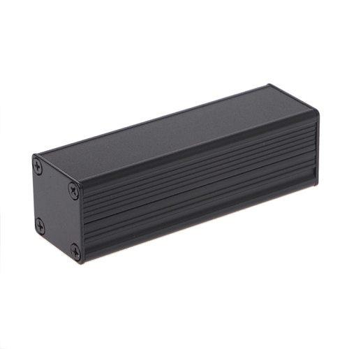 1pcs New DIY Extruded Electronic Project Aluminum Enclosure Case Black 80x25x25mm
