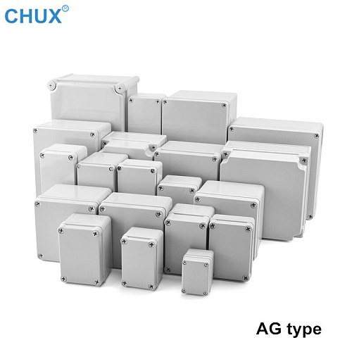 AG Series Waterproof Plastic Junction Box ABS Inner bottom plate plastic Housing Electronic Project Enclosure Case Boxes