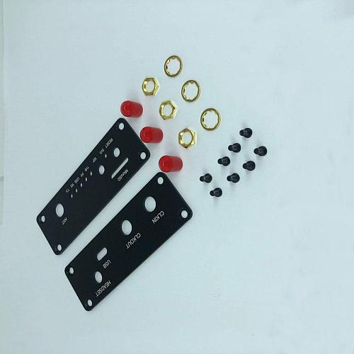 MeterMall Metal Case Black Aluminum Enclosure Cover Shell for PORTAPACK H2 / HACKRF ONE SDR Radio