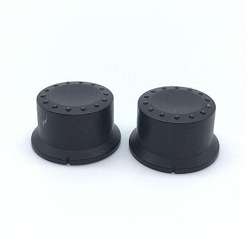 5pcs Plastic Switch Caps Transmittance 6mm 15/64'' Shaft Diameter Light-emitting Potentiometer knob Plum Shaft D Shaft