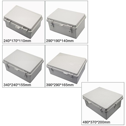 CSCSD IP65-67 Waterproof Electronic Junction Box Enclosure Case Outdoor Terminal Cable 1 pcs (All Sizes)
