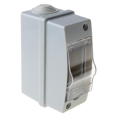 Household Illumination Electrical Distribution Box Waterproof IP65 with Transparent Cover Junction Wire Box Accessories