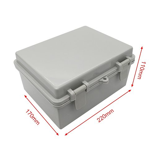 Manhua AG-1722 Electrical Waterproof Wall mounted Outdoor enclosure Junction box IP65