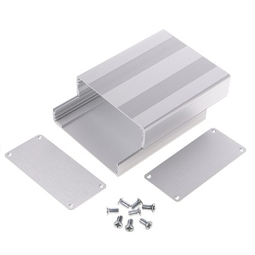 Aluminum Enclosure Case Electronic Project Box For PCB Board 130x110x50mm