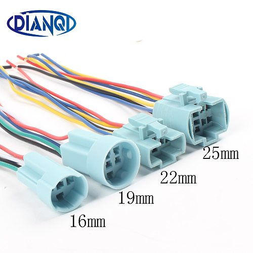 16mm 19mm 22mm cable socket for metal push button switch wiring 2-6 wires stable lamp light button