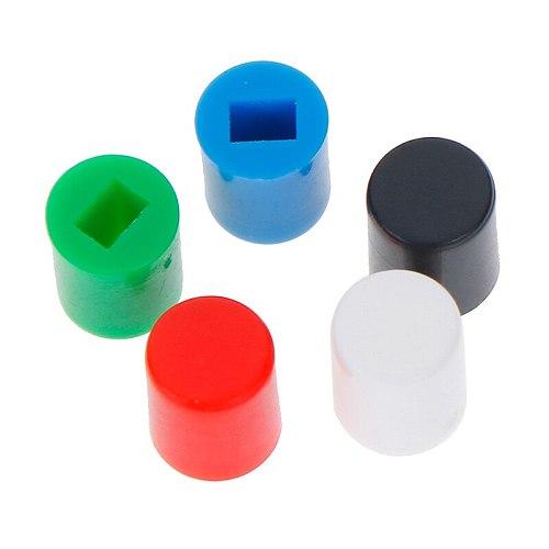 20Pcs/Lot Tactile Push Button Switch Cap 10mm Applies 6*7mm Self-locking Switch Button Cap Wholesale