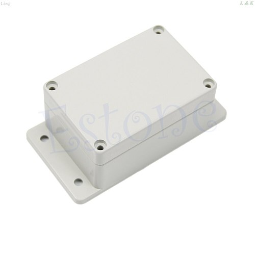 Waterproof Plastic Electronic Project Box Case Enclosure 3.94  x 2.68  x 1.97