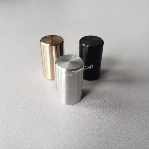 15pcs power knob 9.5*16*3.2mm 9.5*10mm Square switch cap Headphone amplifier knob Chassis panel buttons for power switch