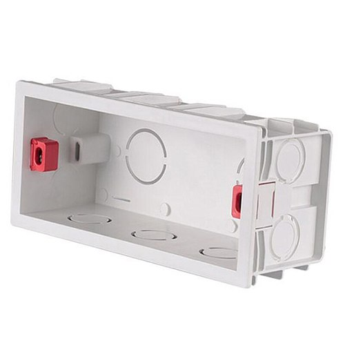 114*50*66mm Internal Mounting Box Back Cassette For Wall Light Switches And Sockets
