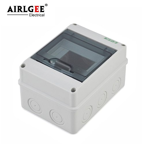 2-5-way plastic power box HT-5 waterproof ABS high quality outdoor junction box surface mount modular distribution box