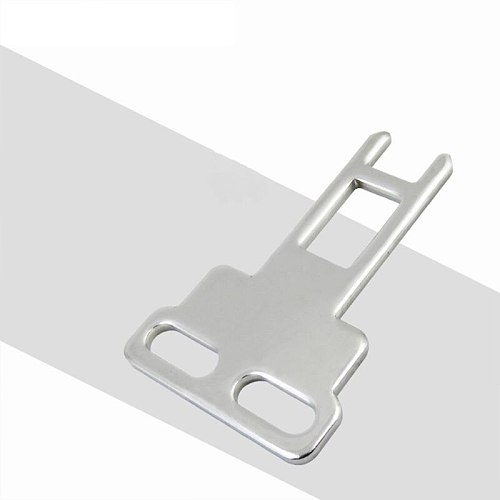 CZ93-K1 Door Safety Interlock Switch Actuating Key Silver Tone Direct Acting