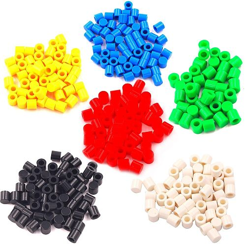50PCS 6X6 Key A56 Switch Cap for 6*6 Buttons Multicolor 6MM Height Red/White/Black/Blue/Green/Yellow