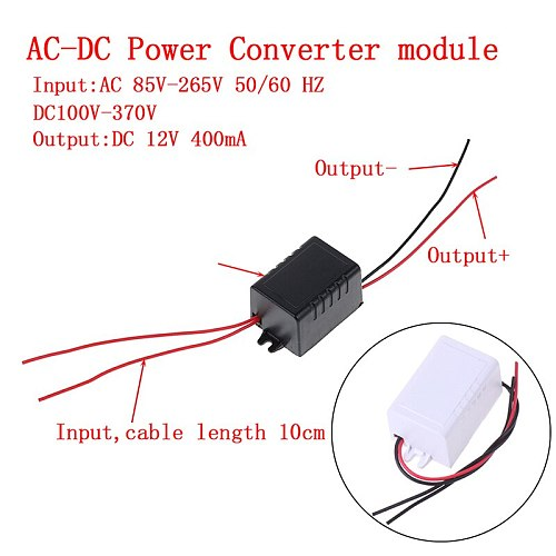 1PCS AC-DC Converter Switching Power Supply Module Adapter 110V 220V 230V To 12V 400mA Switch Accessories