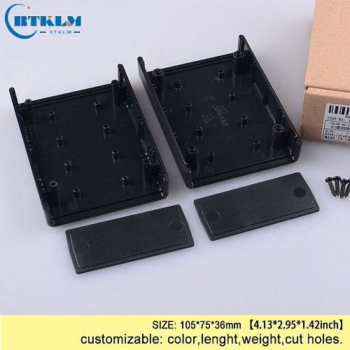 Custom enclosure abs plastic enclosure diy box desktop plastic enclosure for electronics distribution  junction box 105*75*36mm